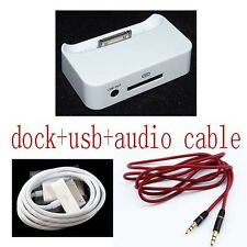 music Dock Cradle Charger Docking Station cable for iPod Nano 2G 3G 4G 5G