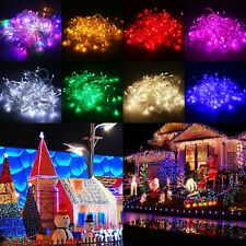 10M/20M Christmas Wedding Party Waterproof LED String Fairy Light Bright Lamp
