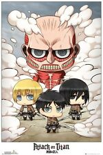 Attack on Titan Chibi Group Poster 61x91.5cm