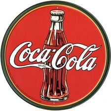 New Coca Cola Vintage Coke Bottle and Logo Coke Metal Tin Sign