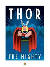 New Marvel Deco The Mighty Thor Print