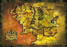 New The Lord of the Rings Middle Earth Map Poster