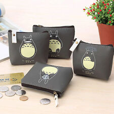 Cute Totoro Money Purse Wallet ID Card Key Coin Holder Case Pouch Handbag Zipper