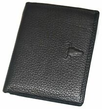 Mens Leather Wallets Credit Card Holder ID Photo Holders Zippered Pocket Purse