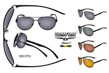 New Element Eight Polarized Aviator Sunglasses Metal Frame Driving Golf 18611pol