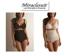 Miraclesuit Shapewear Shape Away High Waist Brief Panty 2915 In Black Or Nude