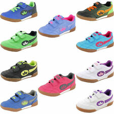 Lico Children Boys Girls Sports Shoes Indoor Trainers Bernie NEW