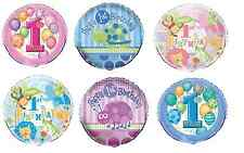 """1st Birthday Foil Balloon 18"""" First/Boy/Girl/Decorating/Party/Helium"""