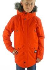 O ' Neill Coat Winter Coat Parka Expedition Red Hood Function Fur