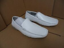 Red Label by Giovanni Men's Severo White Slip On Dress Shoes