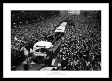 Liverpool 1965 FA Cup Final Open Top Bus Street Scene Photo Memorabilia (102)