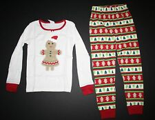 NEW Gymboree Outlet Gingerbread Girl Holiday Pajamas PJs size 3 4 5 6 7 8 10 12
