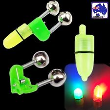 20pcs Fishing  Bell Bells Clip with Glow Stick Light Tackle Bite Alarms OFISP 09