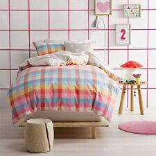 NEW Marie Claire Kelsea Quilt Cover Set, Candy