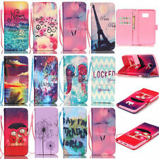 Luxury Wallet Flip Leather Case Cover For Samsung Galaxy S6 edge S5/S4/S3 Note 5