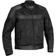 NEW RIVER ROAD WOMENS PECOS CLASSIC LEATHER-MESH JACKET