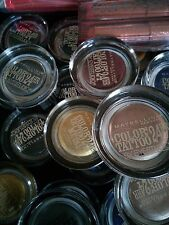 MAYBELLINE New York COLOR TATTOO 24 HR By EyeStudio EYESHADOW - YOUR CHOICE!
