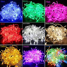 10M/20M 100/200LED Bulbs Christmas Fairy Party String Lights Waterproof Ourdoor