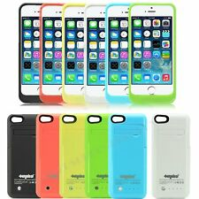 iPhone 5 5S 5C Portable Power Bank Charger External Backup Battery Case 2600mAh
