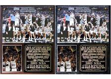 San Antonio Spurs 2003 NBA Champions Photo Plaque Tim Duncan David Robinson