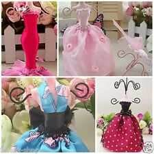 Birthday Gift Princess Ball Gown Dress Mannequin Jewellery Display Stand Holder
