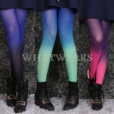 Sexy Fashion Womens Cute Gradient Print Pantyhose Tights Stockings SDE