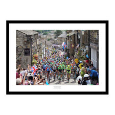 2014 Tour de France Yorkshire Grand Depart Cycling Photo Memorabilia (144)