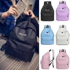 Women Canvas Backpack Students School Bookbags Travel Messenger Shoulder Bag New