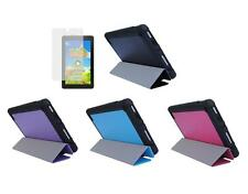 """Slim Folio Cover Case + Screen Protector for Amazon Kindle Fire 7"""" Tablet 2015"""