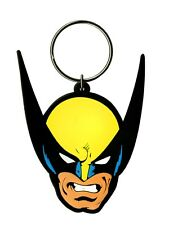 Marvel Comics Wolverine Rubber Keychain - NEW & OFFICIAL