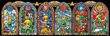 The Legend of Zelda Link Stained Glass Slim Poster 91.5x30.5cm