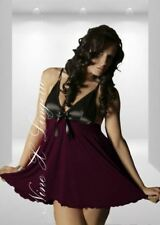 Nine X Ladies Lingerie Plus Size Chemise 10 - 28 Sexy Babydoll Nightgown Dress