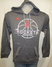 Houston Rockets Men Small Pullover Hooded Sweatshirt NBA Adidas Climawarm A8TRM