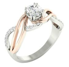 14K Solid Gold I1/G 1.00Ct Real Diamond Excellent Solitaire Ring Engagement Band
