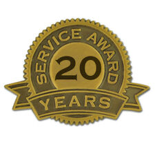 20 Years of Service Award Lapel Pin