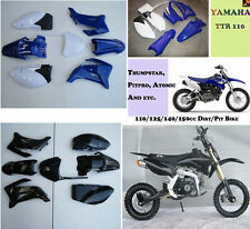 FOR YAMAHA TTR110 TTR 110 PLASTIC FENDER KIT DIRT PIT BIKE XQ