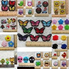 New Embroidered Iron / Sew On Patch Motif Applique Embroidery Cloth Decoration