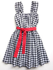 Girls Check Sundress Ses Petites Mains Size 2T, 3T, 4T, 5, 6, 7, 8 $62-$64 NWT