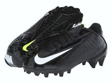NEW Youth Boys NIKE Vapor Strike 4 Black White TD Low Molded Football Cleats