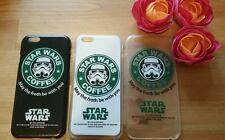 STAR WARS PHONE CASE COVER FOR IPHONE 6 6S & 6 PLUS STARBUCKS STYLE