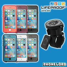 Genuine Lifeproof Fre Frē waterproof case and Lifeactiv bike bar mount iPhone 6s