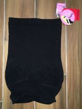 NEW Womens SPANX Slim Cognito Black High Waist Brief Firm Control Panty Bodysuit