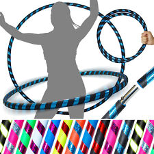 Travel Hula Hoop - Weighted Fitness / Exercise Adult Hoola Hoops 4 Dance/Fitness