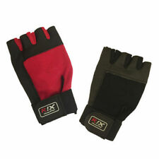 Rix Weight Lifting Body Building Gloves Gym Straps Bar Training Leather Grip
