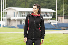 Finden & Hales LV551 Womens Ladies Piped Microfleece Jacket