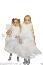 White Angel And Fairy Girl Fancy Dress Costume Fairy Magic Wand Girls Costumes