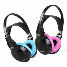 DWH004/DWH003 Kids Size Wireless IR Headphone for Car Headrest/ Roof Monitor DVD