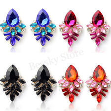 Fashion Women Earrings Set Rhinestone Crystal Drop Alloy Ear Studs Earrings Gift