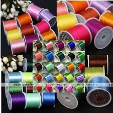 0.5mm 80 Yard Elastic String Thread Cords Fit Womens Jewelry Bracelet DIY Making