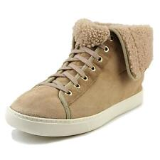 Cole Haan Raven Hightop   Round Toe Leather  Sneakers
